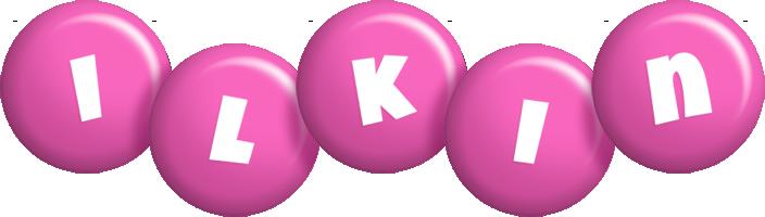 Ilkin candy-pink logo