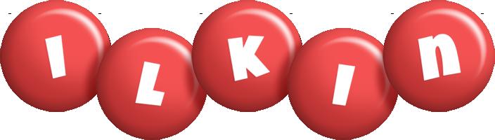 Ilkin candy-red logo
