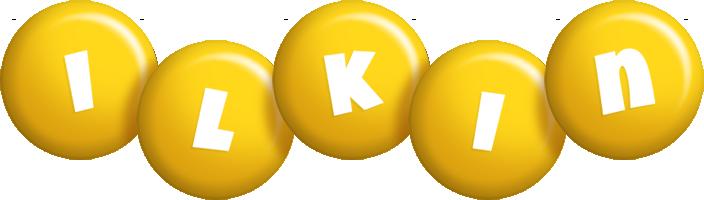Ilkin candy-yellow logo