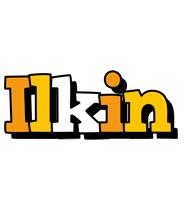 Ilkin cartoon logo