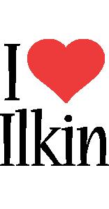Ilkin i-love logo