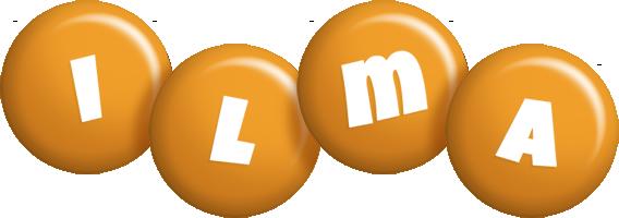 Ilma candy-orange logo