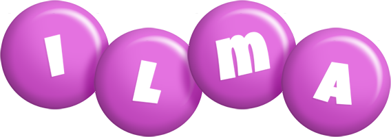 Ilma candy-purple logo