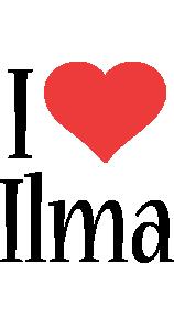 Ilma i-love logo