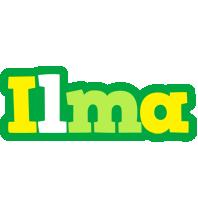 Ilma soccer logo
