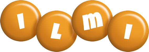 Ilmi candy-orange logo