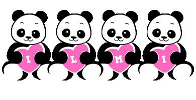Ilmi love-panda logo