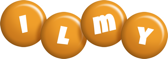 Ilmy candy-orange logo