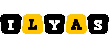 Ilyas boots logo