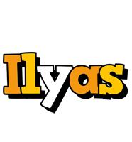 Ilyas cartoon logo