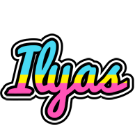 Ilyas circus logo