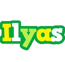 Ilyas soccer logo
