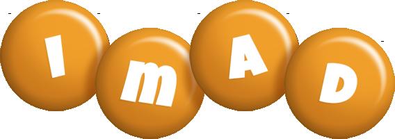 Imad candy-orange logo
