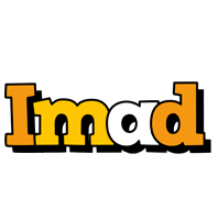 Imad cartoon logo