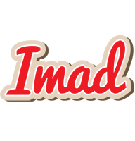 Imad chocolate logo