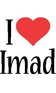 Imad i-love logo