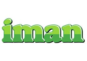 Iman apple logo