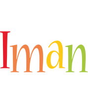 Iman birthday logo