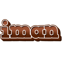 Iman brownie logo