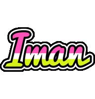 Iman candies logo