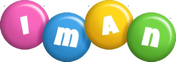 Iman candy logo