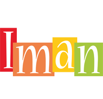 Iman colors logo