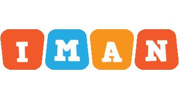 Iman comics logo