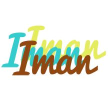 Iman cupcake logo