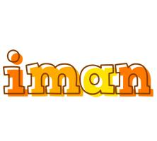 Iman desert logo