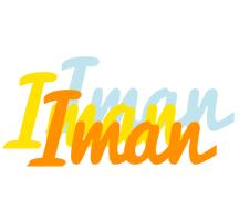 Iman energy logo