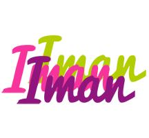 Iman flowers logo