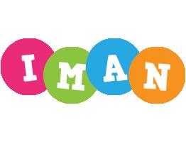 Iman friends logo