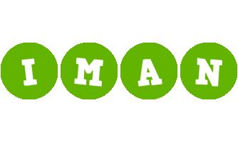 Iman games logo