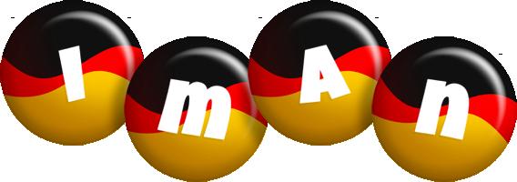 Iman german logo