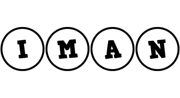 Iman handy logo