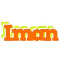 Iman healthy logo