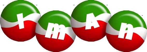 Iman italy logo
