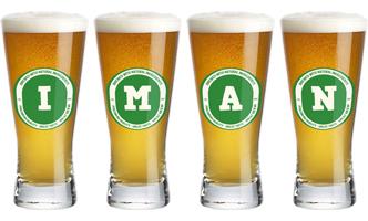 Iman lager logo