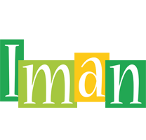 Iman lemonade logo