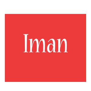 Iman love logo