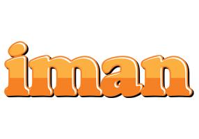Iman orange logo