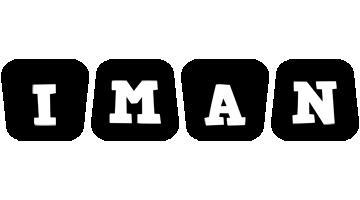 Iman racing logo