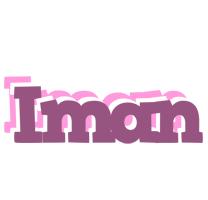 Iman relaxing logo