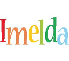 Imelda birthday logo