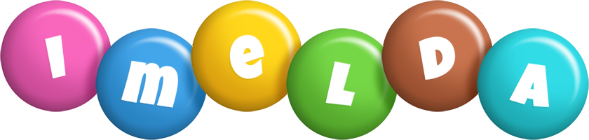 Imelda candy logo