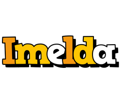 Imelda cartoon logo