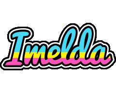 Imelda circus logo
