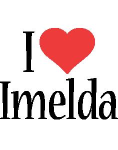 Imelda i-love logo