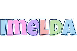 Imelda pastel logo