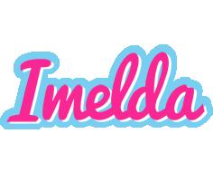 Imelda popstar logo
